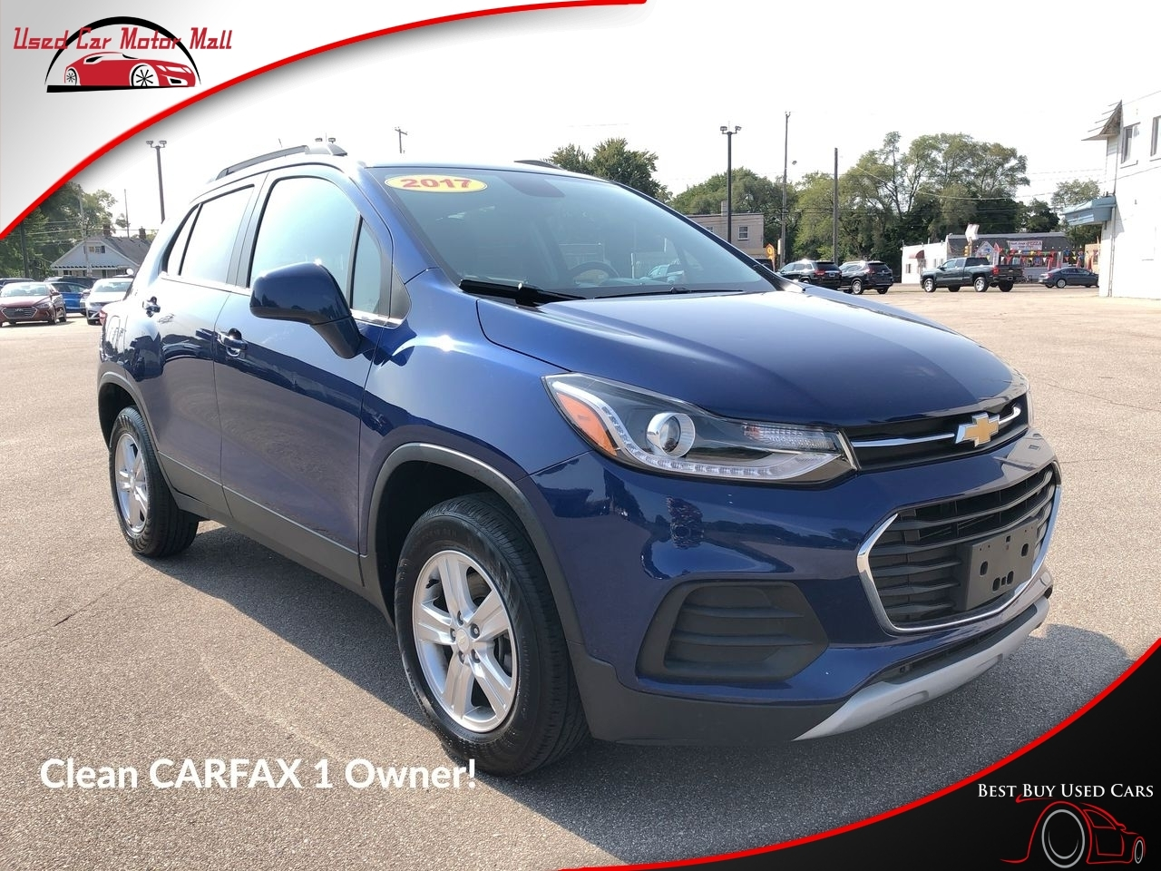 2017 Chevrolet Trax LT AWD, 290706, Photo 1
