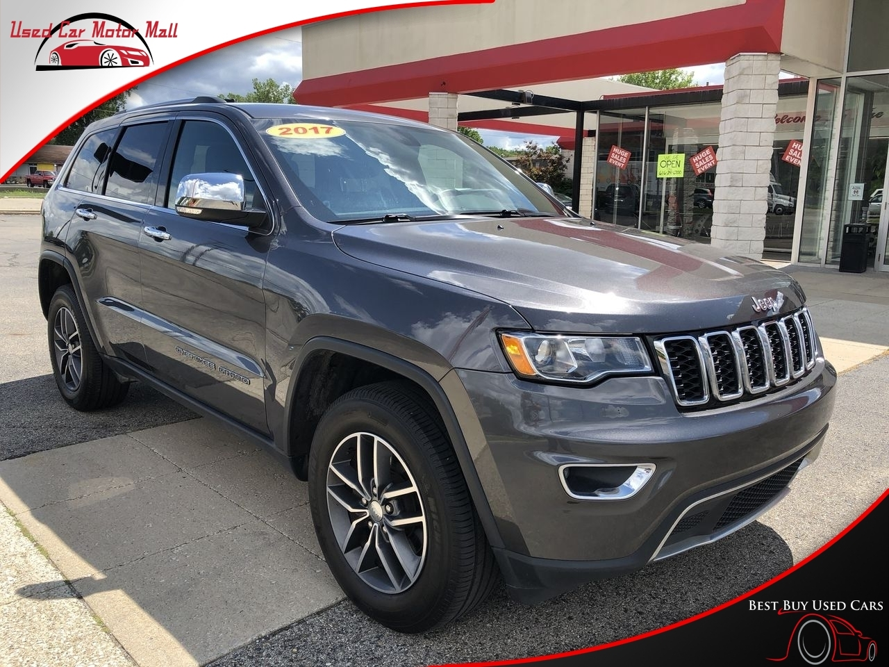 2017 Jeep Grand Cherokee Laredo 4WD, 651493, Photo 1