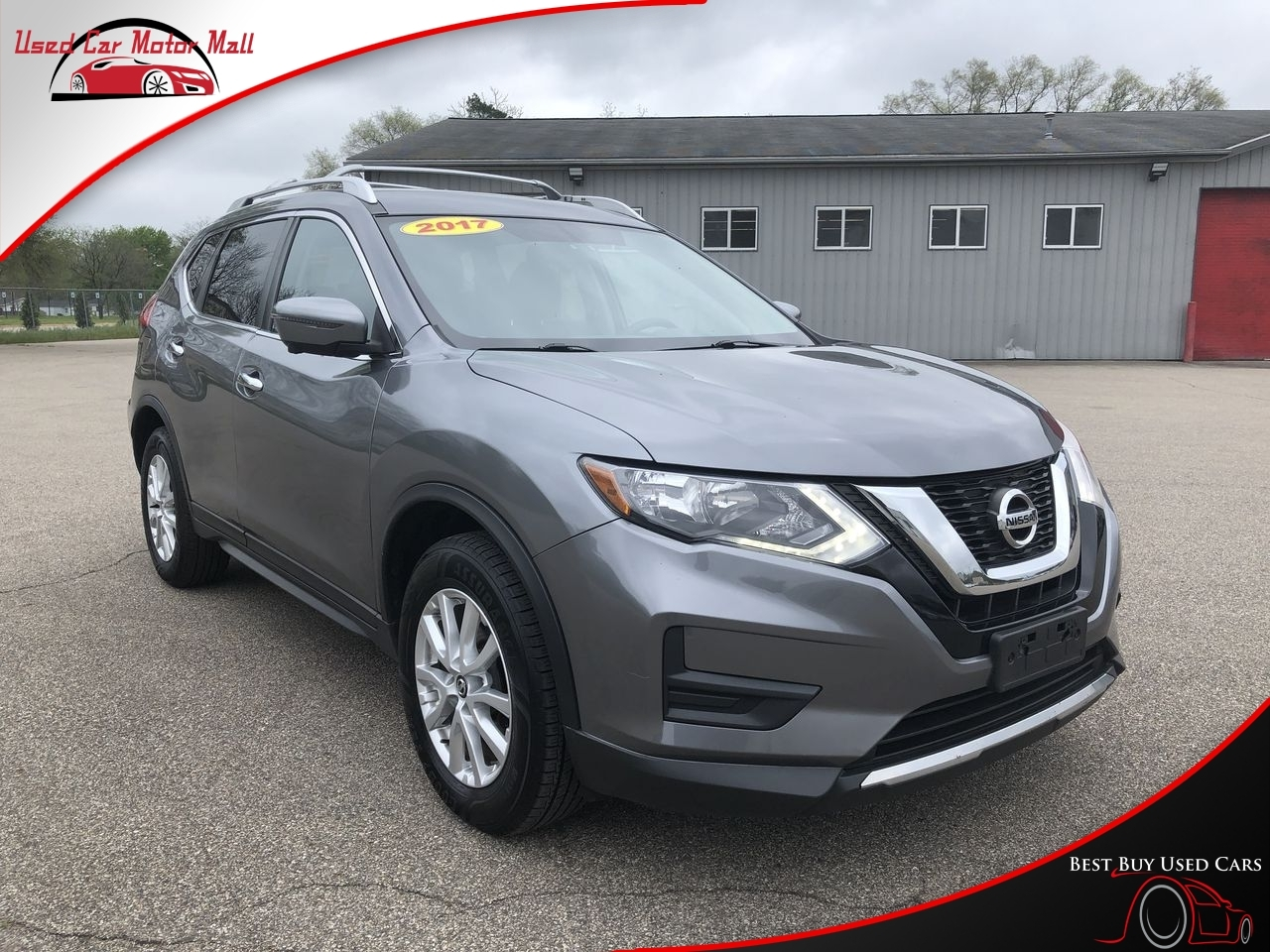 2017 Nissan Rogue SV AWD, 013930, Photo 1