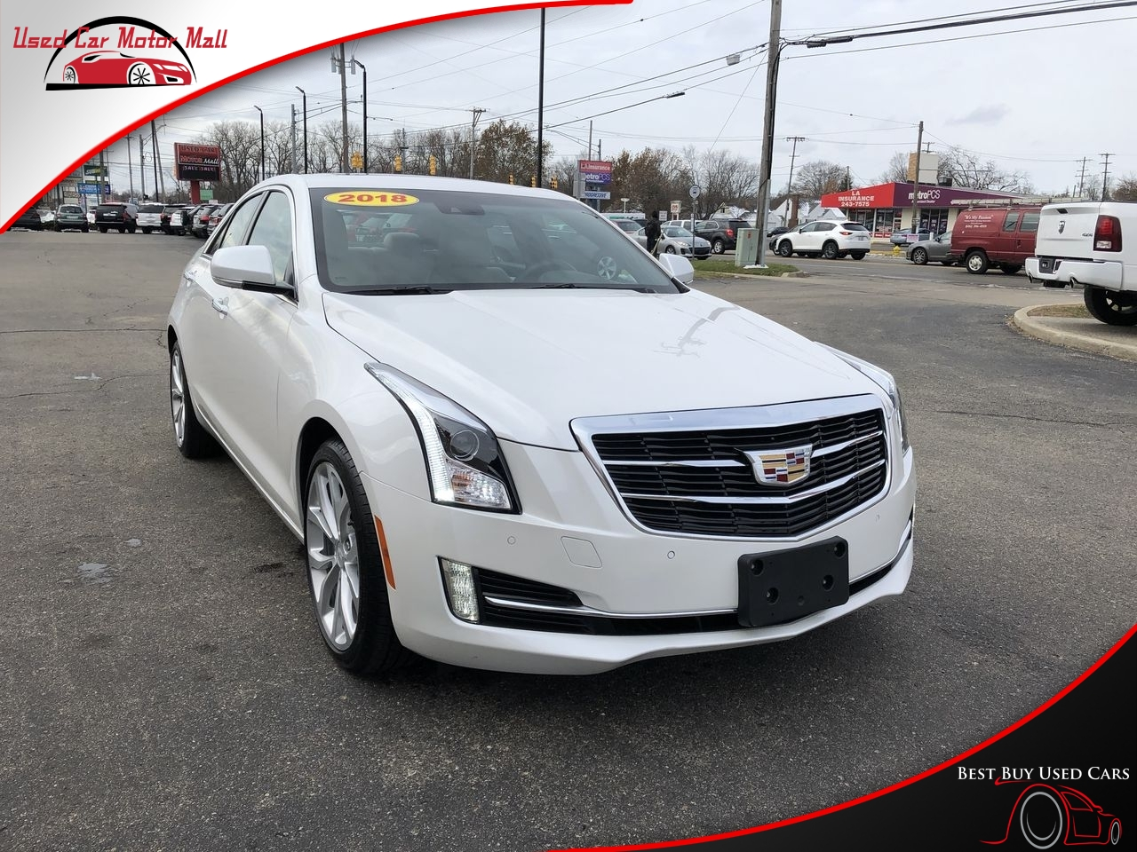 2013 Cadillac ATS 2.5L RWD, 135377, Photo 1