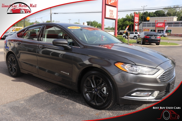 2016 Ford Fusion S Hybrid, 264580, Photo 1