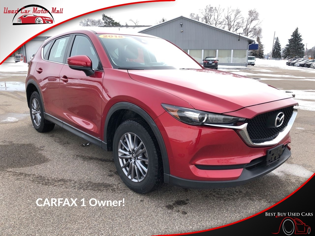 2017 Mazda CX-5 Sport AWD, 115685, Photo 1