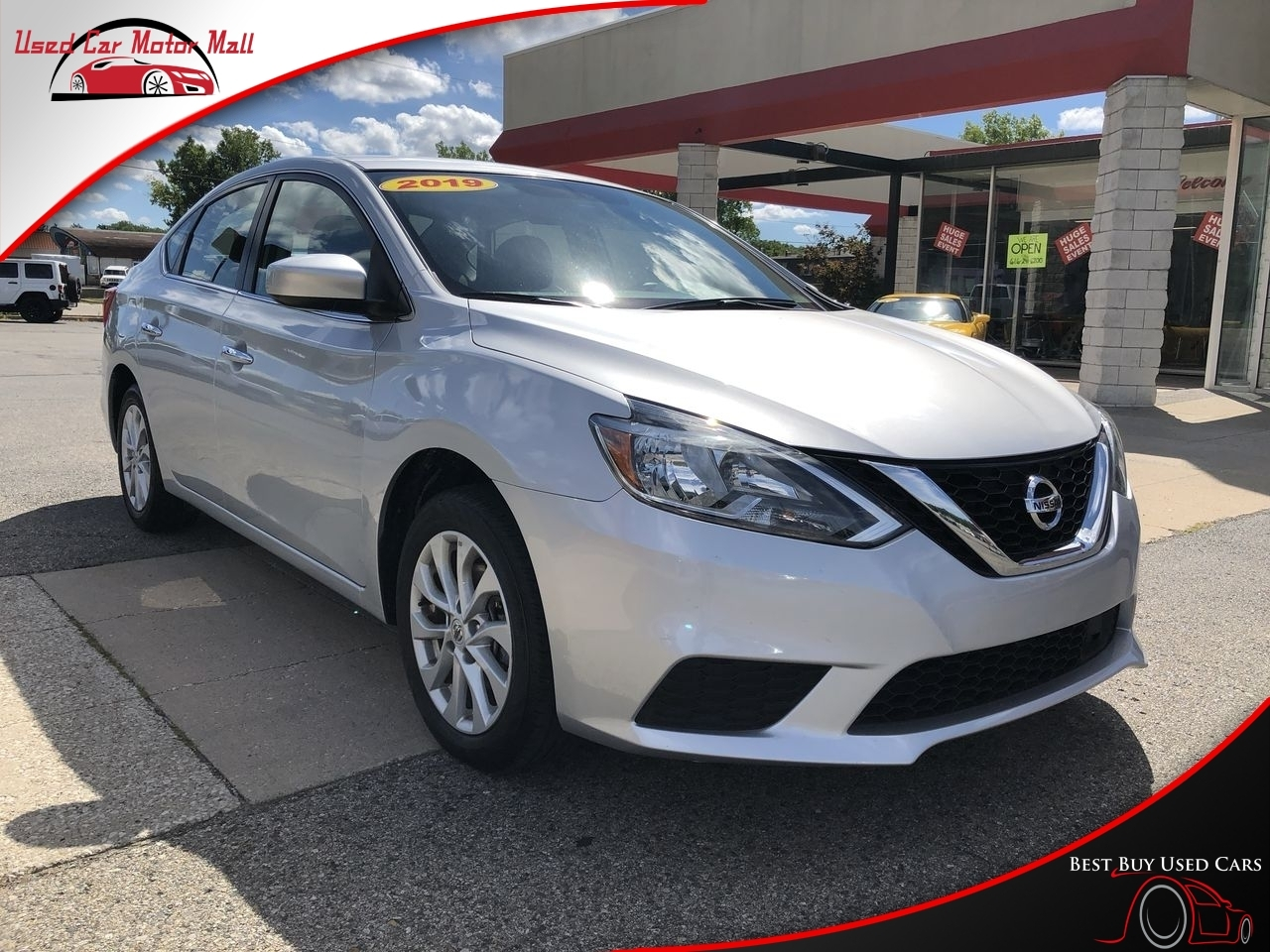 Used Silver 2019 Nissan Sentra Stk 367984 Best Buy Used Cars