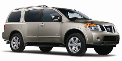 2008 Nissan Armada LE, 25448A, Photo 1