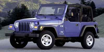 2004 Jeep Wrangler X, 27354B, Photo 1