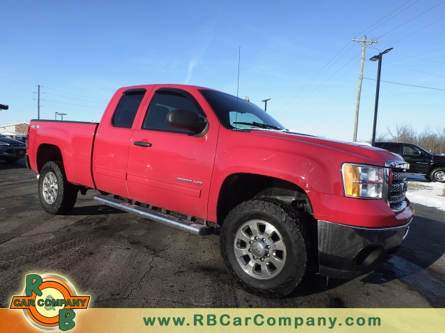 2013 GMC Sierra 3500HD 4WD Ext Cab 158.2