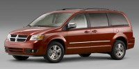 Used, 2008 Dodge Grand Caravan SXT, Red, 31033A-1