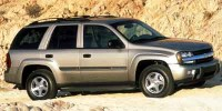 Used, 2002 Chevrolet TrailBlazer LT, Blue, H21858B-1