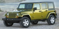 Used, 2008 Jeep Wrangler Unlimited Rubicon, Black, W680-1