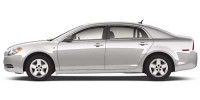 Used, 2008 Chevrolet Malibu LS w/1FL, White, 18823-1