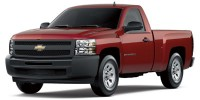 Used, 2009 Chevrolet Silverado 1500 Work Truck, Red, 30966A-1