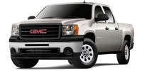 Used, 2009 GMC Sierra 1500 Work Truck, Black, W127-1
