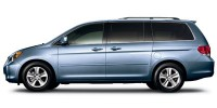 Used, 2008 Honda Odyssey Touring, Silver, 29751A-1