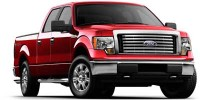 Used, 2010 Ford F-150, Red, C12600A-1