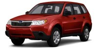 Used, 2010 Subaru Forester, Red, C18D101B-1