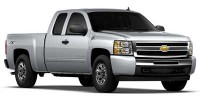 Used, 2011 Chevrolet Silverado 1500 LS, White, 31346-1