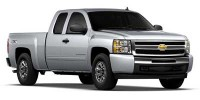 Used, 2010 Chevrolet Silverado 1500 LT, Gray, 28084A-1