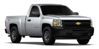 Used, 2012 Chevrolet Silverado 1500 Work Truck, Blue, P7634-1