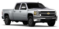 Used, 2010 Chevrolet Silverado 2500HD LTZ, White, 27479-1
