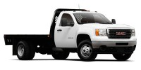 Used, 2011 GMC Sierra 3500HD Enclosed 4X4 Utility Truck, White, 14916-1