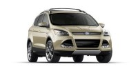 Used, 2013 Ford Escape Titanium, White, 28518-1
