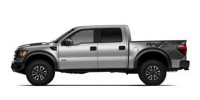 Used, 2013 Ford F-150 SVT Raptor, Silver, 29083-1