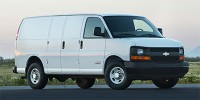 "Used, 2017 Chevrolet Express Cargo Van RWD 2500 155"", White, 27285-1"