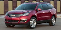 Used, 2014 Chevrolet Traverse LT, Gold, FT0070-1