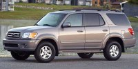 Used, 2002 Toyota Sequoia Limited, White, BT5562-1