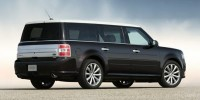 Used, 2014 Ford Flex Limited w/EcoBoost, Red, 26813-1