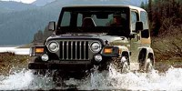 Used, 2002 Jeep Wrangler Sahara, Black, M738-1