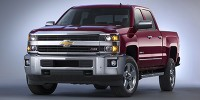 Used, 2015 Chevrolet Silverado 2500HD Built After A LT, White, W296-1