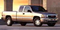 "Used, 2003 GMC Sierra 2500HD Ext Cab 143.5"" WB 4WD, Yellow, D17D63A-1"
