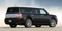 Used, 2015 Ford Flex Limited w/EcoBoost, Red, 32503-1