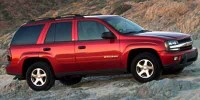 Used, 2004 Chevrolet TrailBlazer LT, Silver, 28063X-1