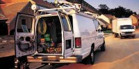 Used, 2003 Ford Econoline, White, F266-1