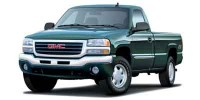 Used, 2003 GMC Sierra 1500 Work Truck, Red, M1343-1