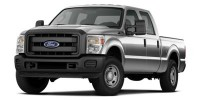 Used, 2014 Ford F-350sd XL, White, C0453-1