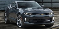 Used, 2017 Chevrolet Camaro 1LT, Blue, 31656-1