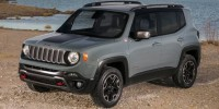Used, 2016 Jeep Renegade Trailhawk, Silver, 31490-1