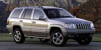 Used, 2003 Jeep Grand Cherokee Overland, Red, C18J161A-1