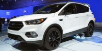 Used, 2017 Ford Escape SE, Gray, P37383-1