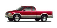Used, 2000 Chevrolet S-10 LS, Gold, 28825B-1