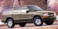 Used, 2000 Chevrolet Blazer LS, White, 30061B-1