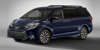 New, 2018 Toyota Sienna Limited FWD 7-Passenger, Black, 00291897-1