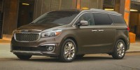 New, 2018 Kia Sedona LX, Gray, 18KF318-1