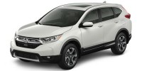 New, 2018 Honda CR-V EX AWD, White, 180986-1