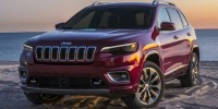 New, 2019 Jeep Cherokee Altitude, White, JK239-1