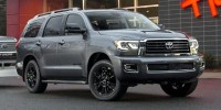 New, 2019 Toyota Sequoia SR5 4WD, Black, 00300640-1