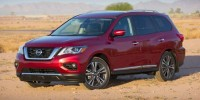 Used, 2019 Nissan Pathfinder SV, Gray, 18849-1